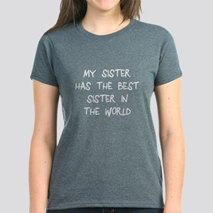 My sister best sister Women's Dark T-Shirt